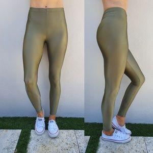 American Apparel Nylon Tricot Legging